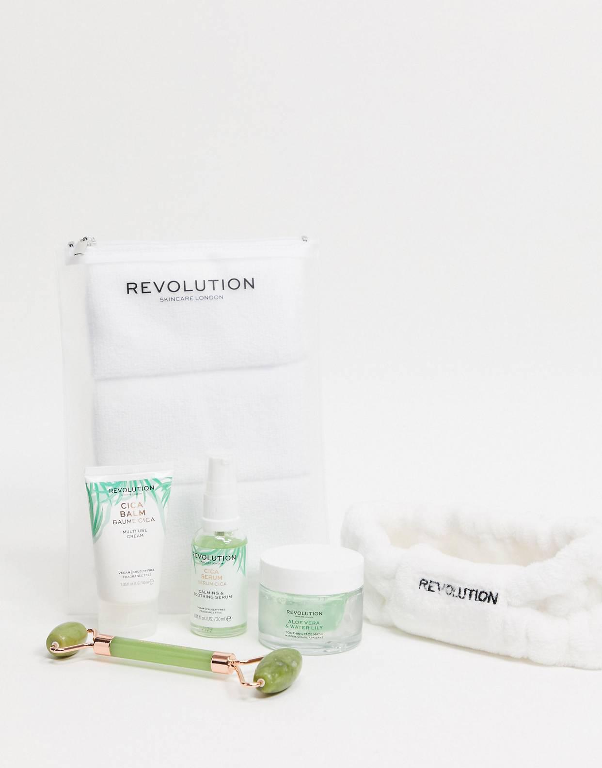 Set para el cuidado de la piel Skin Peace & Love de Revolution