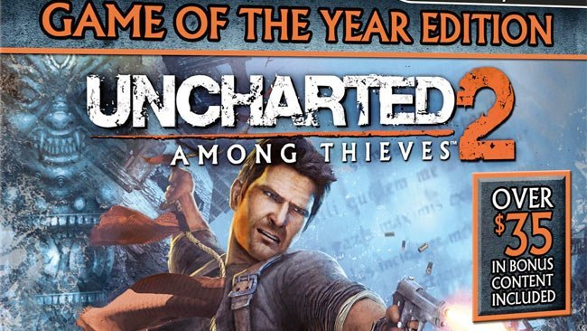 Uncharted 2 Game of the Year Edition