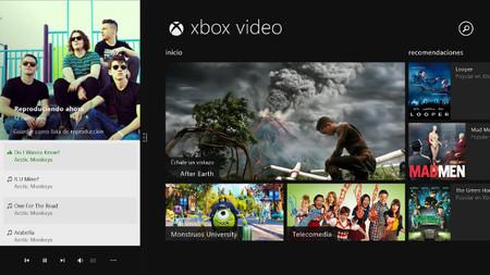 Microsoft actualiza las aplicaciones de Música y Vídeo en Windows 8