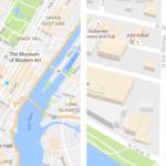 Así son los nuevos mapas de Google Maps