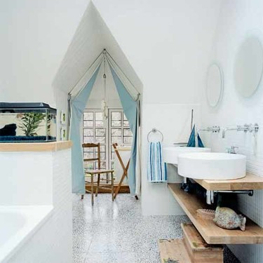Un baño para los grumetes