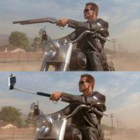 Remplazar armas por palo-selfies es uno de los proyectos más divertidos que hemos visto