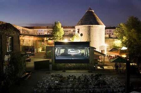 Cine al aire libre en Berlín