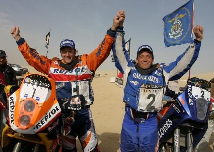 Marc Coma vence en el Rally de Túnez