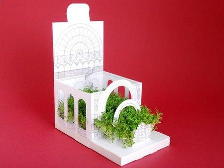 Regalos decorativos para esta Navidad: una casa con jardín