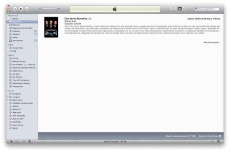 Seis preguntas imprescindibles para alquilar películas en la iTunes Store