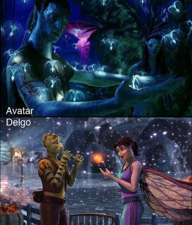 Foto de 'Avatar' Vs. 'Delgo' (1/7)
