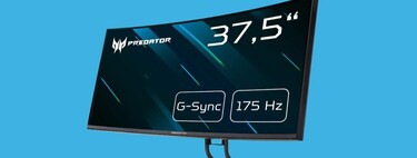 Si buscas monitor gaming de grandes dimensiones, curvo y ultrapanorámico, échale un ojo a este Acer Predator a mínimo histórico por algo más de 1.200 euros en Amazon