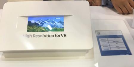 Samsung tiene una pantalla 4K de 5,5 pulgadas, diseñada para la realidad virtual