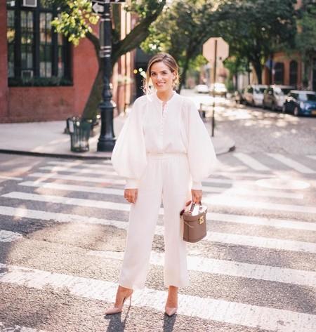 Los total looks en blanco arrasan en el street style: 25 prendas para conseguir el look monocolor del invierno