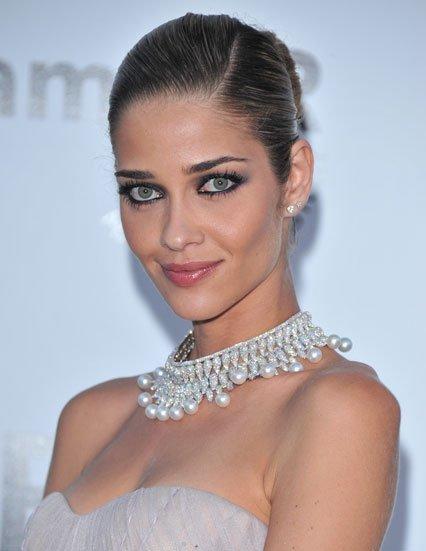 El maquillaje de ojos de Ana Beatriz Barros en Cannes 2011: demasiado perfilador negro
