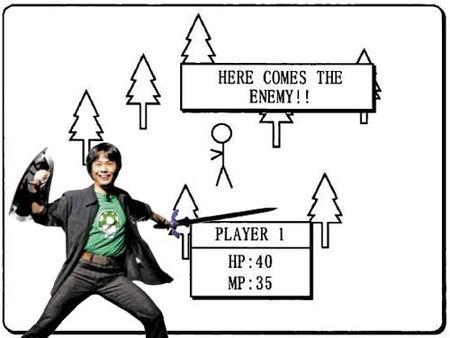 El RPG de Miyamoto para pantalla táctil