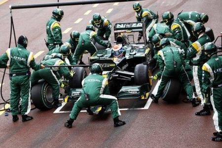 Lotus diseña su monoplaza para el 2011 sin KERS
