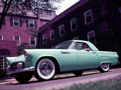 Los coches más míticos de Ford: el Thunderbird de 1955