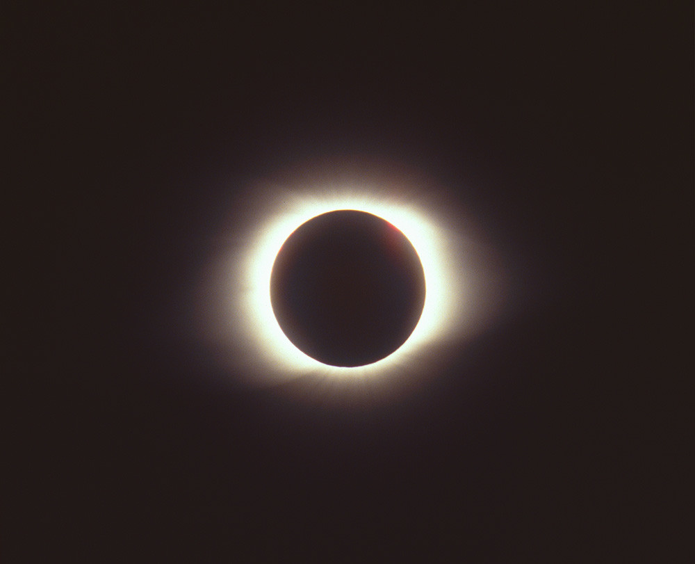 Total Solar Eclipse Of March 9 1997