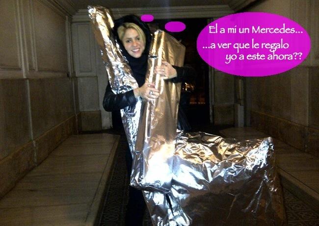 Shakira cumple regalos