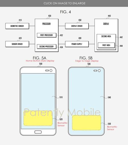 Patente de lector de ultrasonidos de Samsung