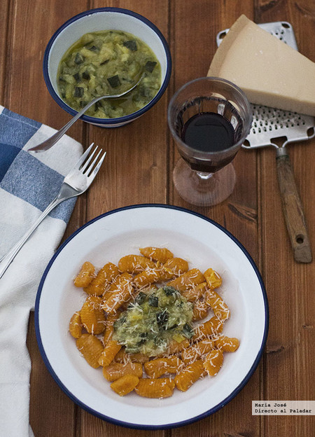 Ñoquis de zanahoria con crema de calabacín: receta fácil y sabrosa con Thermomix
