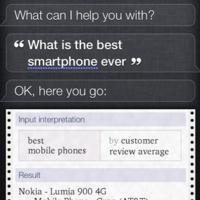 Desde Nokia opinan que Apple ha modificado la opinión de Siri sobre el Lumia 900