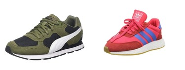 Chollos en tallas sueltas de zapatillas Reebok, Under Armour, Adidas o Puma en Amazon