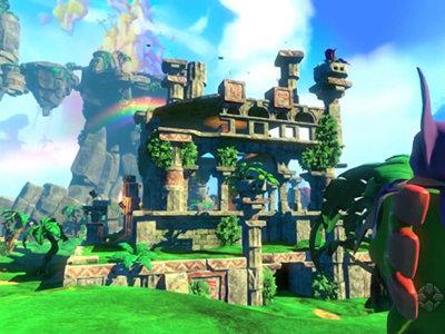 Luce excelente y muy colorido, Seis minutos de gameplay de Yooka-Laylee