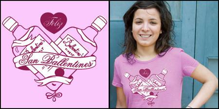 Camiseta: Feliz día de San Ballantine's