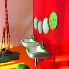 Foto 2 de 4 de la galería banos-alegres-y-coloristas-para-ninos-de-laufen en Decoesfera