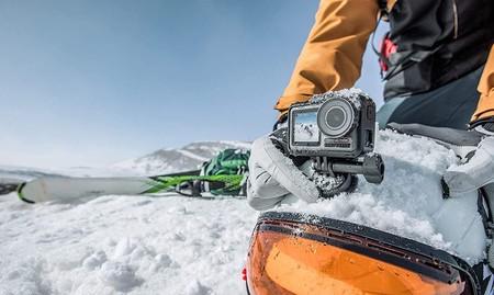 Precio mínimo histórico del pack DJI Osmo Action Charging Combo en Amazon por 269 euros: una cámara de acción que graba en 4K HDR