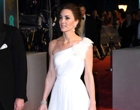 Premios BAFTA 2019: Kate Middleton se convierte en la novia más espectacular en la alfombra roja del cine británico