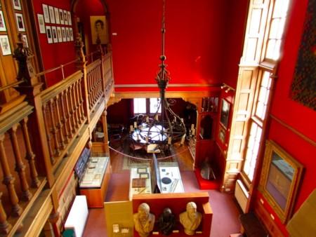 Vista Museo Escritores Edimburgo