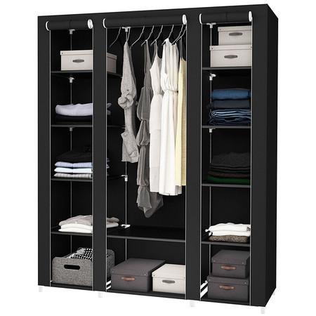 ¿No tienes dónde guardar la ropa del cambio de temporada? por 29,95 euros tienes este armario modular de tela en eBay