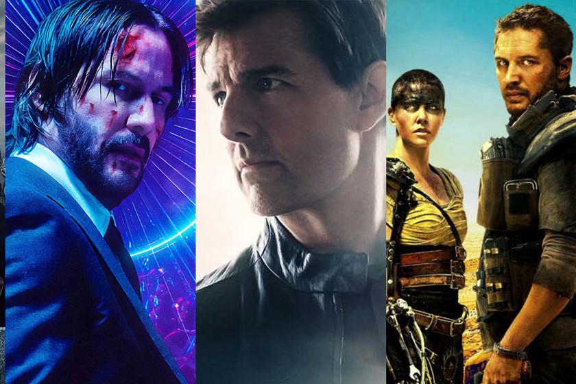 Las 27 Mejores Películas De Acción De La Década 2010 2019
