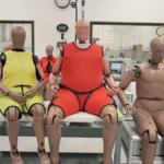 """La obesidad también afecta los dummies, ahora las pruebas de choque utilizan maniquíes """"gorditos"""""""