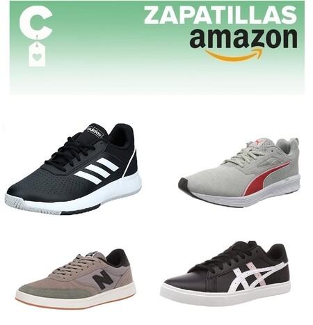 Chollos en tallas sueltas de zapatillas Nike, Adidas, Puma o New Balance por menos de 40 euros en Amazon