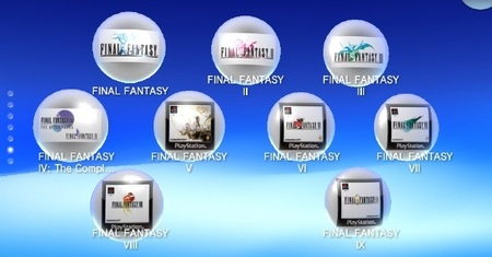 PS Vita Final Fantasy Collection