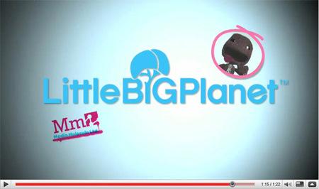 'Little Big Planet' permitirá subir vídeos directamente a YouTube