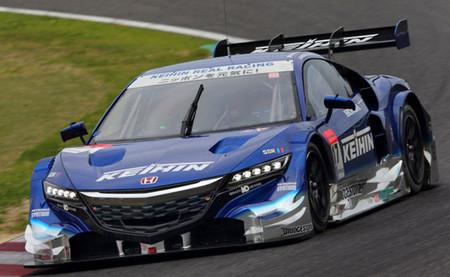 Honda da las primeras señales de recuperación en las pruebas del Super GT en Suzuka