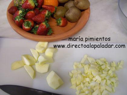 cortamos las frutas