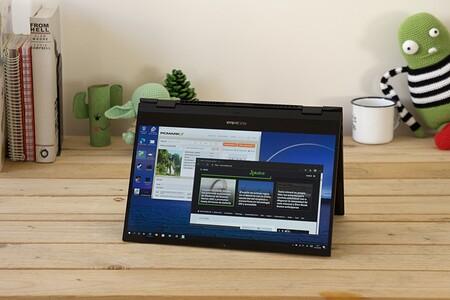 Asus ZenBook Flip S UX371, análisis: Tiger Lake se estrena enfrentándose a una pantalla OLED 4K de impresión