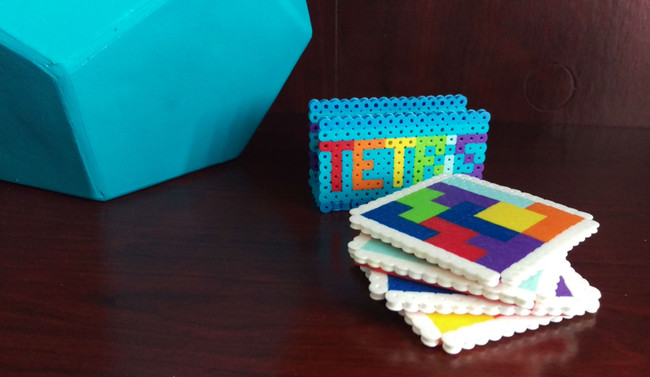 Posavasos Tetris