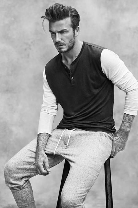 David Beckham colabora con H&M para algo más que ropa interior