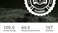 Tumblr ya supera los cien millones de blogs