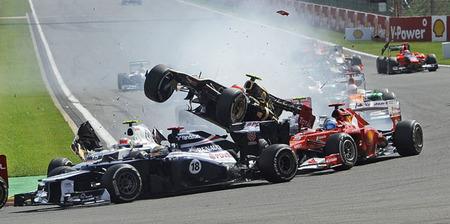 18 años han pasado desde la última suspensión a un piloto