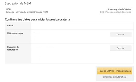 Canales Amazon Prime Video