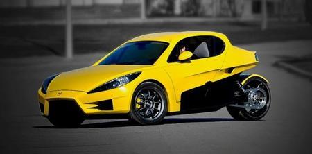 Veeco RT: un deportivo eléctrico de tres ruedas