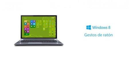 Aprende a utilizar los gestos de ratón con Windows 8 [en vídeo]