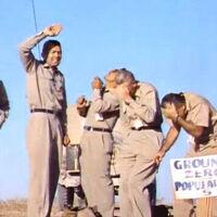 En 1957, estos cinco hombres se ofrecieron voluntarios para situarse debajo de una explosión nuclear