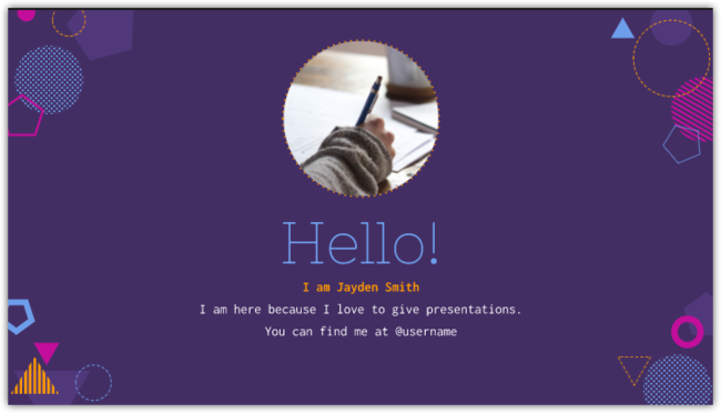 Powerpoint Template Or Google Slides Theme