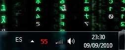 Temperatura de la tarjeta gráfica en el área de notificación