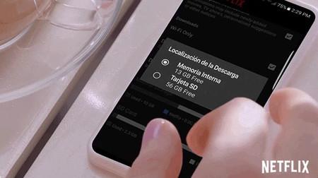 Netflix para Android ya permite descargar sus contenidos en tu tarjeta SD